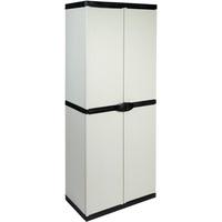 Kreher Armadio 0,68 x 0,40 x 1,68 m grau/schwarz (50804)