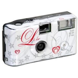 Einwegkamera 400/27 Love white