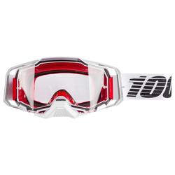 100% Crossbrille Armega Lightsaber - Klar, Anti Fog