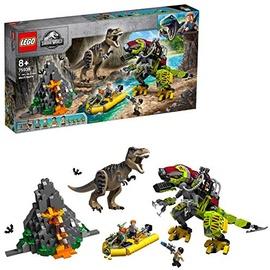 Lego Jurassic World T. Rex Vs. Dino-mech 75938