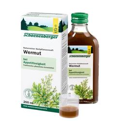 Wermut naturreiner Heilpflanzensaft Schoenenberger