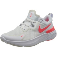 Nike React Miler W white/photon dust/photon dust/laser crimson 42