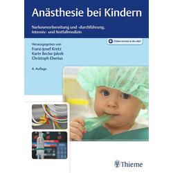 Anästhesie bei Kindern als Buch von
