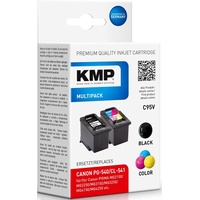 KMP C95V kompatibel zu Canon PG-540 schwarz + CL-541 CMY