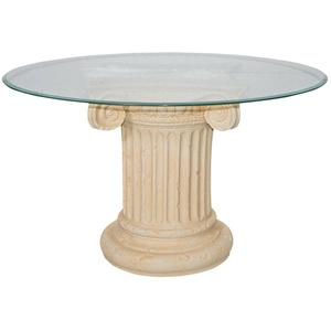Runder Esstisch Steintisch Römertisch Esszimmer Küchentisch Antiker Barock Tisch