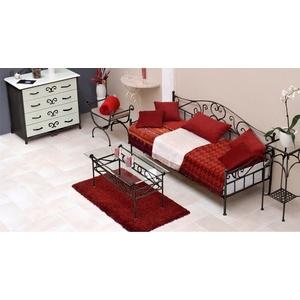 Tagesbett Metall Gora - 80x200 cm - anthrazit - Tagesbett nicht ausziehbar