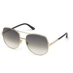 Tom Ford Sonnenbrille Lennox FT0783 goldfarben