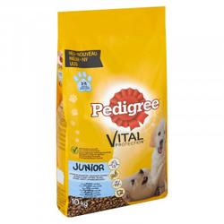 Pedigree Junior Hundefutter 3 x 10 kg