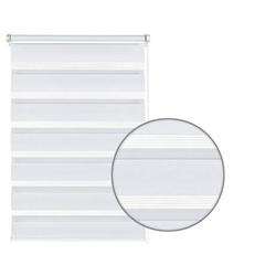 Doppelrollo EASYFIX Doppelrollo weiß 120 x 150, GARDINIA