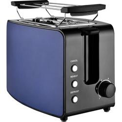 Team Kalorik Toaster TKG TO 1220 BU, 2 kurze Schlitze, 750 W, mit Toastzentrierung