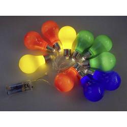 LED Party-Lichterkette Rot, Blau, Grün, Gelb Anzahl Leuchtmittel: 10