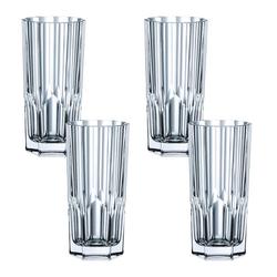 Nachtmann Gläser-Set Aspen Longdrink 4er Set, Kristallglas