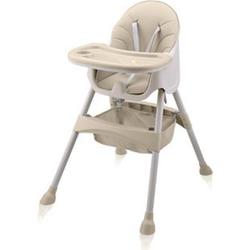 Baby Vivo Design 2in1 Kinderhochstuhl - Oscar... Beige