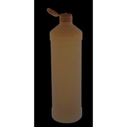 Leerflasche PE-Kunststoff 1 L Dosierhilfe Weiß