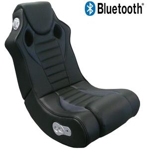 Gaming Chair Speedy Bluetooth Soundchair Multimediasessel Soundsessel schwarz