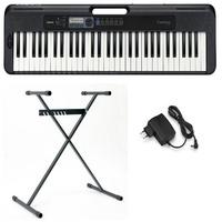 Casio Keyboard Casiotone CT-S300, (Set, 2 tlg), inkl. Keyboardstativ
