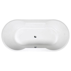 HAK Badewanne IO ovale Badewanne mit Füßen, 180x85x49 cm