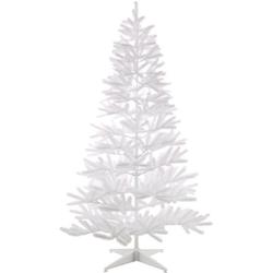 Home affaire Künstlicher Weihnachtsbaum, in edlem Weiß, mit Metallständer Ø 53 cm x 90 cm