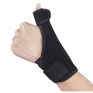 Daumenstütze Daumenbandage Daumenschiene mit Handgelenkstütze Verstellbare Stützen Bandage mit Flexible Schiene für Daumen Schmerzen und verletzungen Arthritis Einheitsgröße Links Oder Rechts