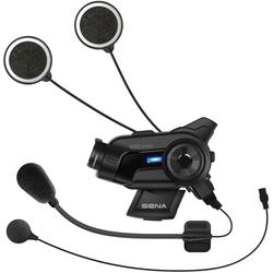 Sena 10C Pro Bluetooth Communication System and Action Camera, black, Größe One Size