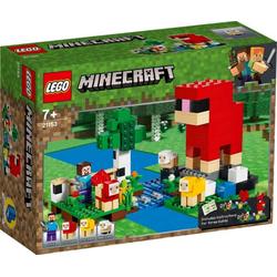 LEGO® Puzzle LEGO® Minecraft 21153 Die Schaffarm, Puzzleteile