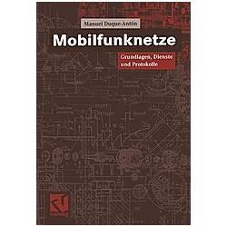 Mobilfunknetze. Manuel Duque-Antón  - Buch