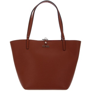 GUESS Alby Toggle Tote Cognac / Rust