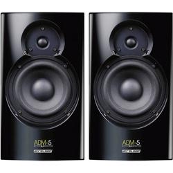 Reloop ADM-5 Aktiver Monitor-Lautsprecher 13.3cm 5.25 Zoll 30W 1 Paar