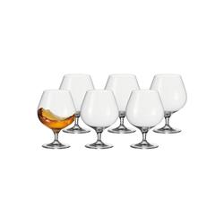 LEONARDO Whiskyglas CHEERS Cognac-Schwenker 40 ml 6er Set (6-tlg)