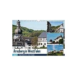 Arnsberg in Westfalen (Wandkalender 2021 DIN A4 quer)