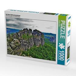 Auf den Schrammsteinen Lege-Größe 64 x 48 cm Foto-Puzzle Bild von Andrea Janke Puzzle