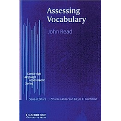 Assessing Vocabulary. John Reed  - Buch