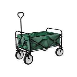tectake Bollerwagen Faltbarer Bollerwagen grün