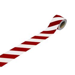 3M 13057 13057R10 Industrie-Warnmarkierung Weiß (reflektierend), Rot (reflektierend) 25m (L x B) 25