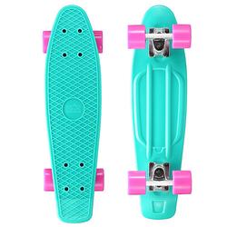 Skateboard Vintage Cruiser 60mm türkis