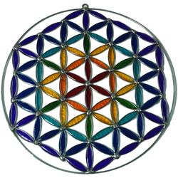 Guru-Shop Dekoobjekt Sonnenfänger, Suncatcher - Blume des Lebens