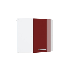 Vicco Hängeschrank Eck57 cm Küchenschrank Küchenschränke Küchenunterschrank R-Line Küchenzeile rot