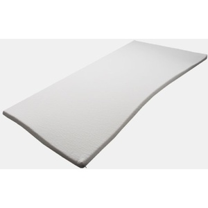 Pyramidenkönig 3cm Viscoelastische Matratzenauflage mit Bezug Milano Härte 2 Visco Auflage Topper Memory Matratze Gelschaum (90 x 200 cm)