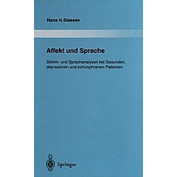 Affekt und Sprache. Hans H. Stassen  - Buch