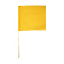 KR-FAHNE, GELB (Farbe: Gelb)
