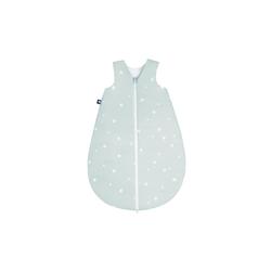 Julius Zoellner Sommerschlafsack in mint mit Muster Star mint, 50 cm