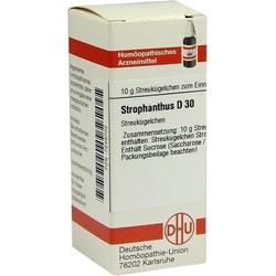 STROPHANTHUS D 30 Globuli 10 g