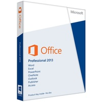 Microsoft Office Professional 2013 PKC DE Win