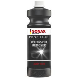 SONAX PROFILINE Waterspot Remover Wasserfleckenentferner, Zur Entfernung von eingetrockneten Kalk- und Wasserflecken, 1 Liter - Flasche