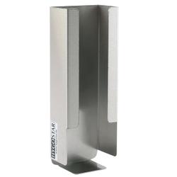 HYGOSTAR® Spenderhalter für Papier-Mundschutz, Speziell für Papier-Mundschutz geeignet , 1 Stück, Maße: 23 x 8,4 x 4,7 cm, Edelstahl
