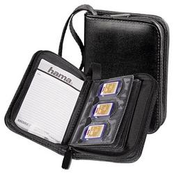 hama 18er Speicherkarten-Tasche schwarz