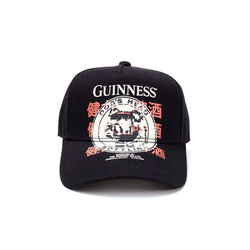 Guinness Baseball Cap GUINNESS CAP SNAPBACK DOGS HEAD Neu Top Neu