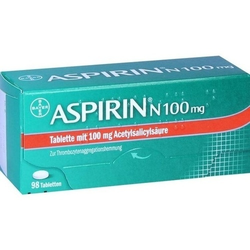 ASPIRIN N 100 mg Tabletten 98 St
