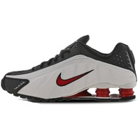 Nike Men's Shox R4 black-white/ red, 43