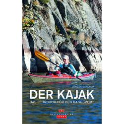 Der Kajak als Buch von Jürgen Gerlach